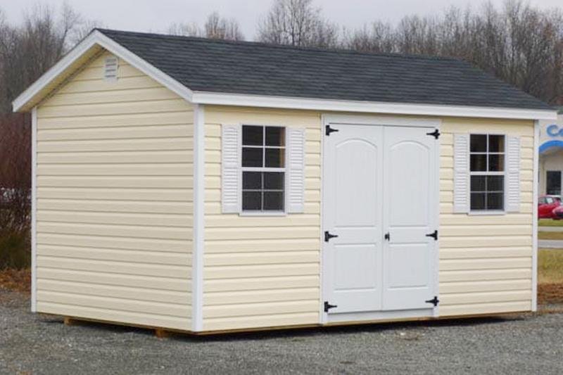 Amish Built Quaker Style Storage Sheds For Sale