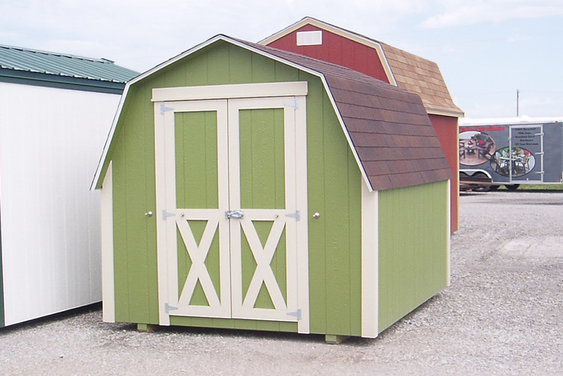 Customized Storage Sheds in Kansas