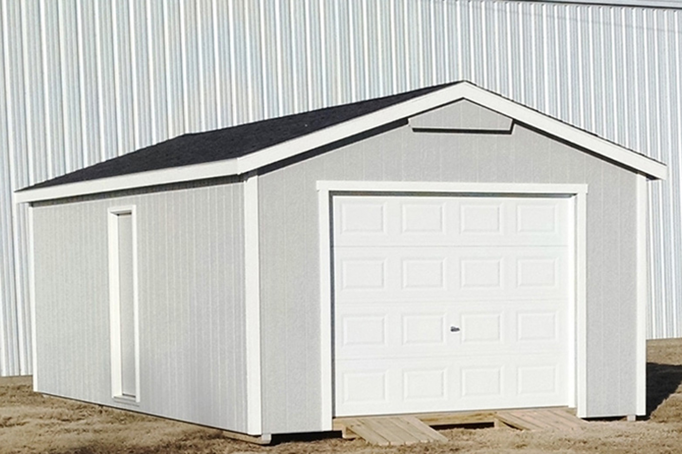 Portable Garages For Sale >> Prefab And Detached Car Garages For Sale In Ks